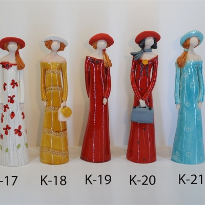 Hand Made Ceramic Doll K20
